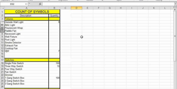 Residential Electrical Estimating Spreadsheet Intended For Electrical Estimating Spreadsheet Or Free With Download Plus