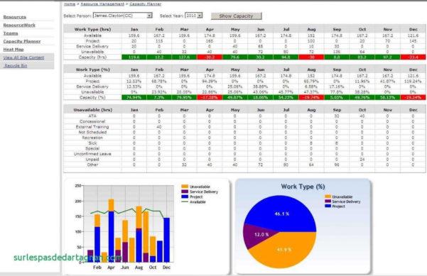 Resource Spreadsheet Inside 022 Plan Templatepacity Planning In Excel Spreadsheet Inspirational