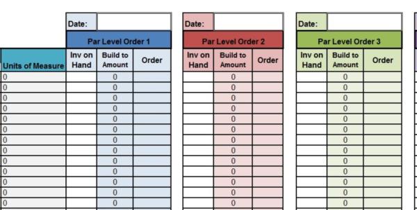 Restaurant Bar Inventory Spreadsheet For Restaurant Inventory Spreadsheet Report Template Wine Pdf Management