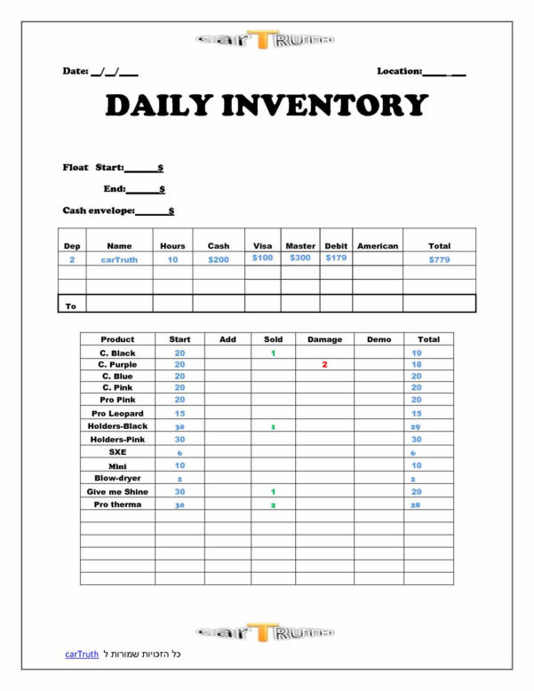 Restaurant Daily Sales Spreadsheet Free With Daily Sales Report Template Sample Selimtd Cele Pinterest Free