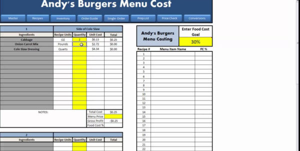 Restaurant Excel Spreadsheets Regarding Restaurant Excel Spreadsheets As How To Make A Spreadsheet Rocket