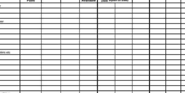 Restaurant Inventory Spreadsheet Xls Regarding Restaurant Inventory Order Sheet Template Throughout Inventory