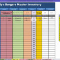 Restaurant Inventory Spreadsheet Xls Within Restaurant Inventory Spreadsheet Xls  Homebiz4U2Profit