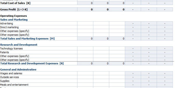 Restaurant Profit And Loss Spreadsheet Intended For Profit And Loss Template For Restaurants Statement Numbers
