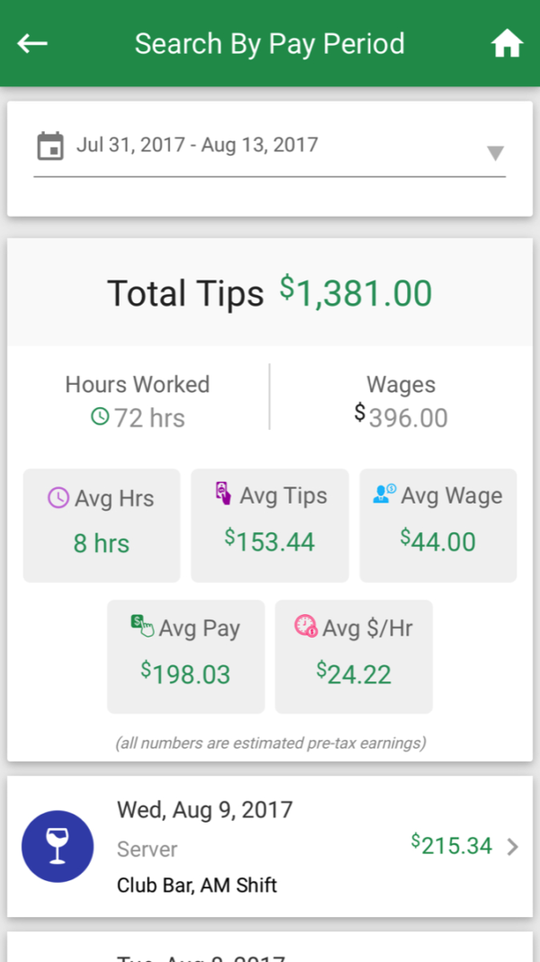 Restaurant Tip Share Spreadsheet Regarding Tip Pooling And Scheduling Apps For The Hospitality Industry