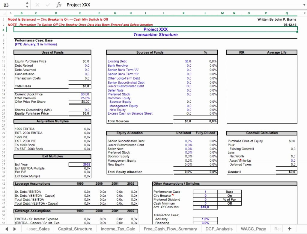 Restaurant Valuation Spreadsheet With Regard To Business Valuation Report Template Worksheet And With Plus Together
