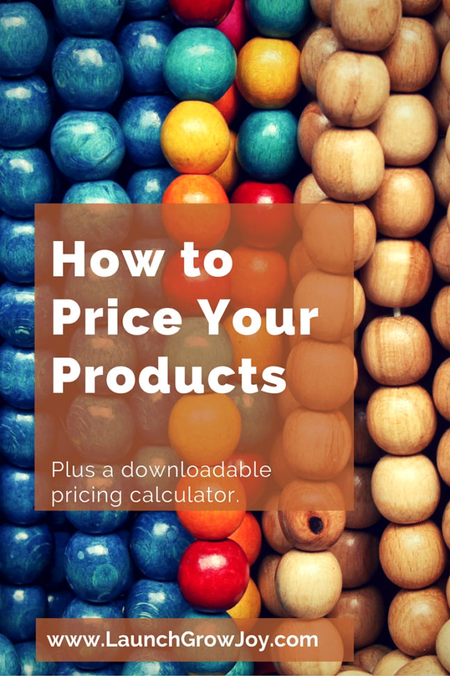 Retail Math Formulas Spreadsheet Pertaining To How To Price Your Products  With A Free Pricing Calculator