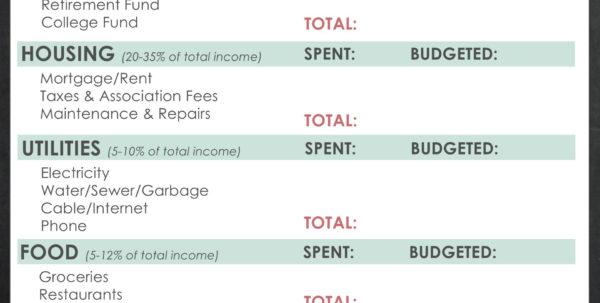 Retirement Budget Planner Spreadsheet Throughout Retirement Budget Spreadsheet Worksheet Printable Free Sheet Crush