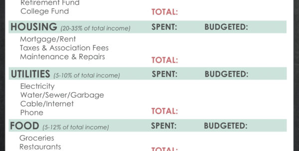Retirement Budget Spreadsheet With Retirement Budget Spreadsheet Worksheet Printable Free Sheet Crush