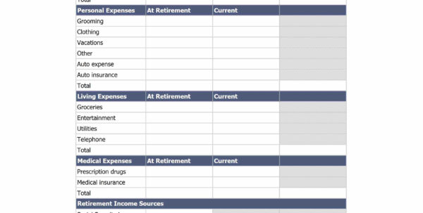 Retirement Calculator Excel Spreadsheet With Ultimate Retirement Calculator Life Spreadsheet  Awal Mula