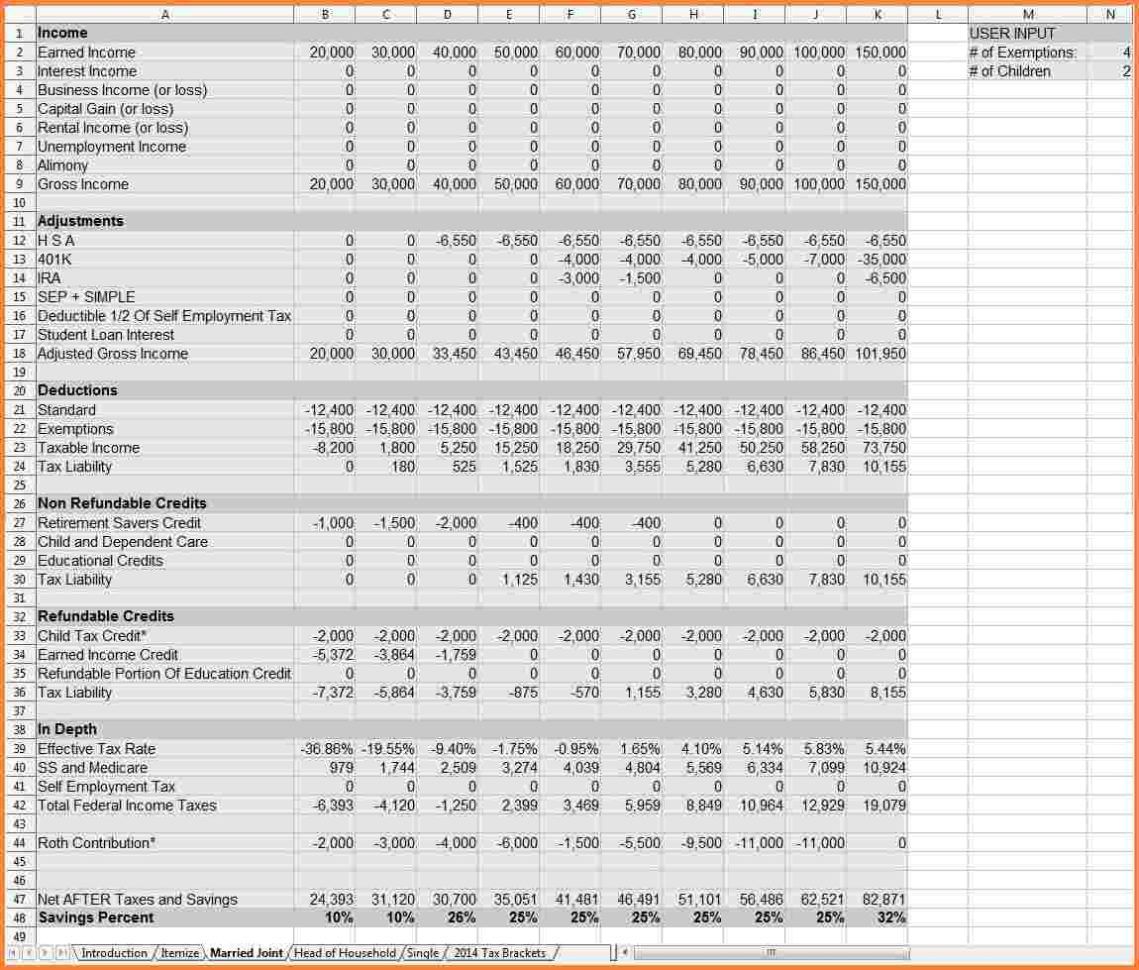 Retirement Projection Spreadsheet With Regard To Small Business Financial Statements Examples  Resourcesaver