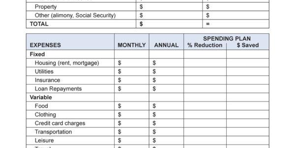 Retirement Spending Spreadsheet Throughout Retirement Budget Worksheet Excel  Rent.interpretomics.co