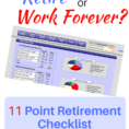 Retirement Withdrawal Spreadsheet Inside Retirement Preparation Checklist [Free Pdf] With Calculator