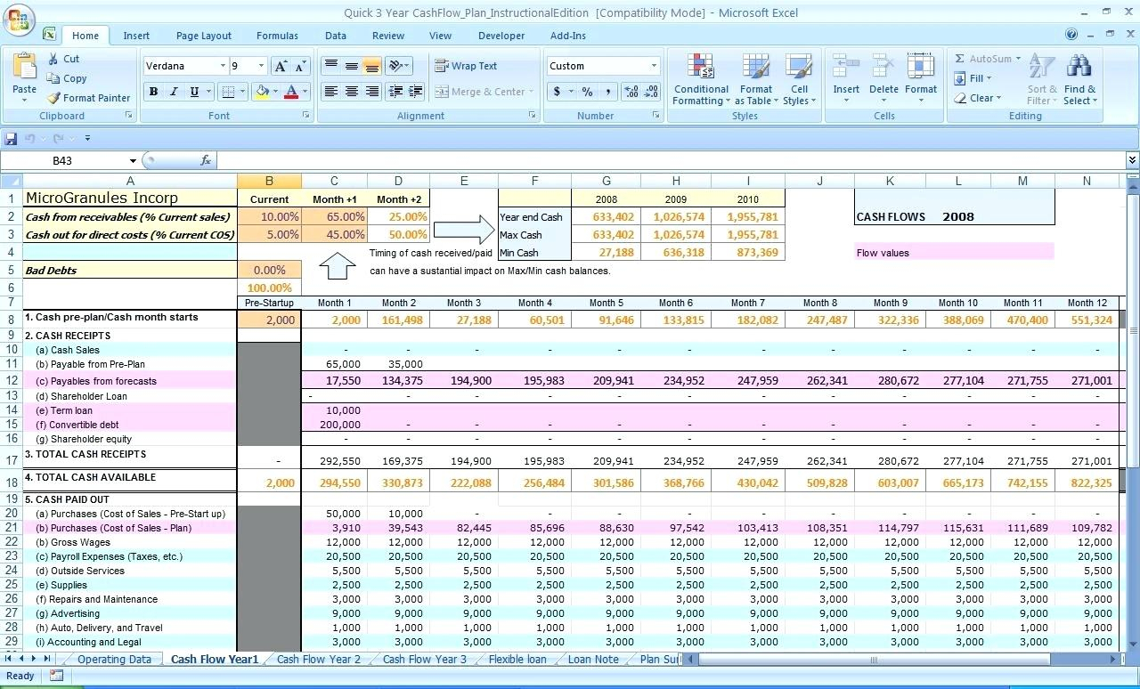 Revenue Recognition Spreadsheet Template Pertaining To Revenue Projection Template Best Revenue Recognition Excel Template