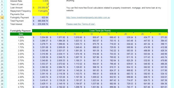 Reverse Mortgage Spreadsheet Pertaining To Mortgage Calculator Free  My Mortgage Home Loan