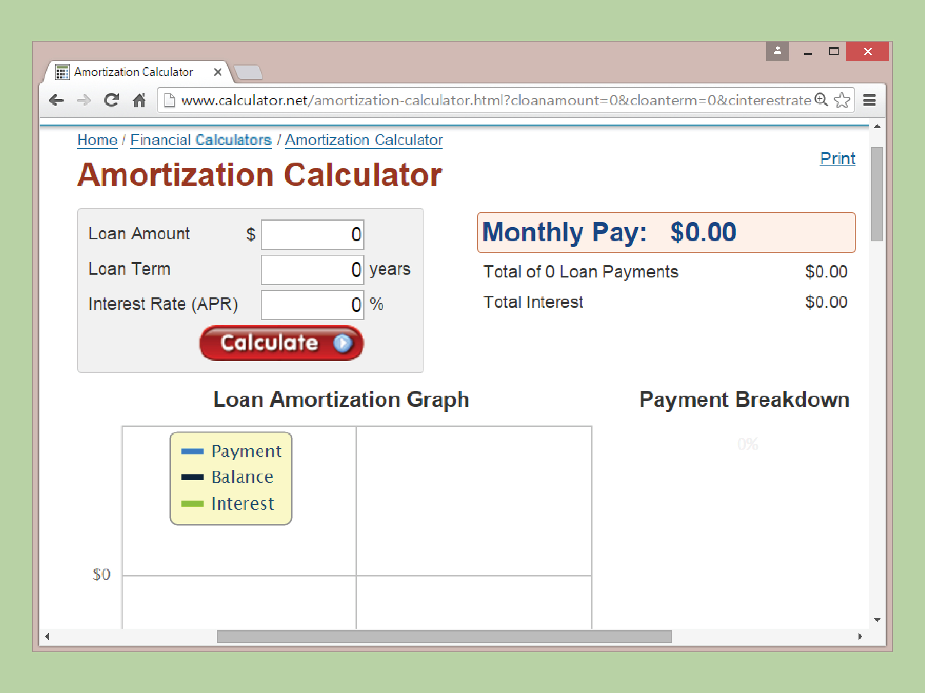 Reverse Mortgage Spreadsheet Within Amortization Calculations  Rent.interpretomics.co