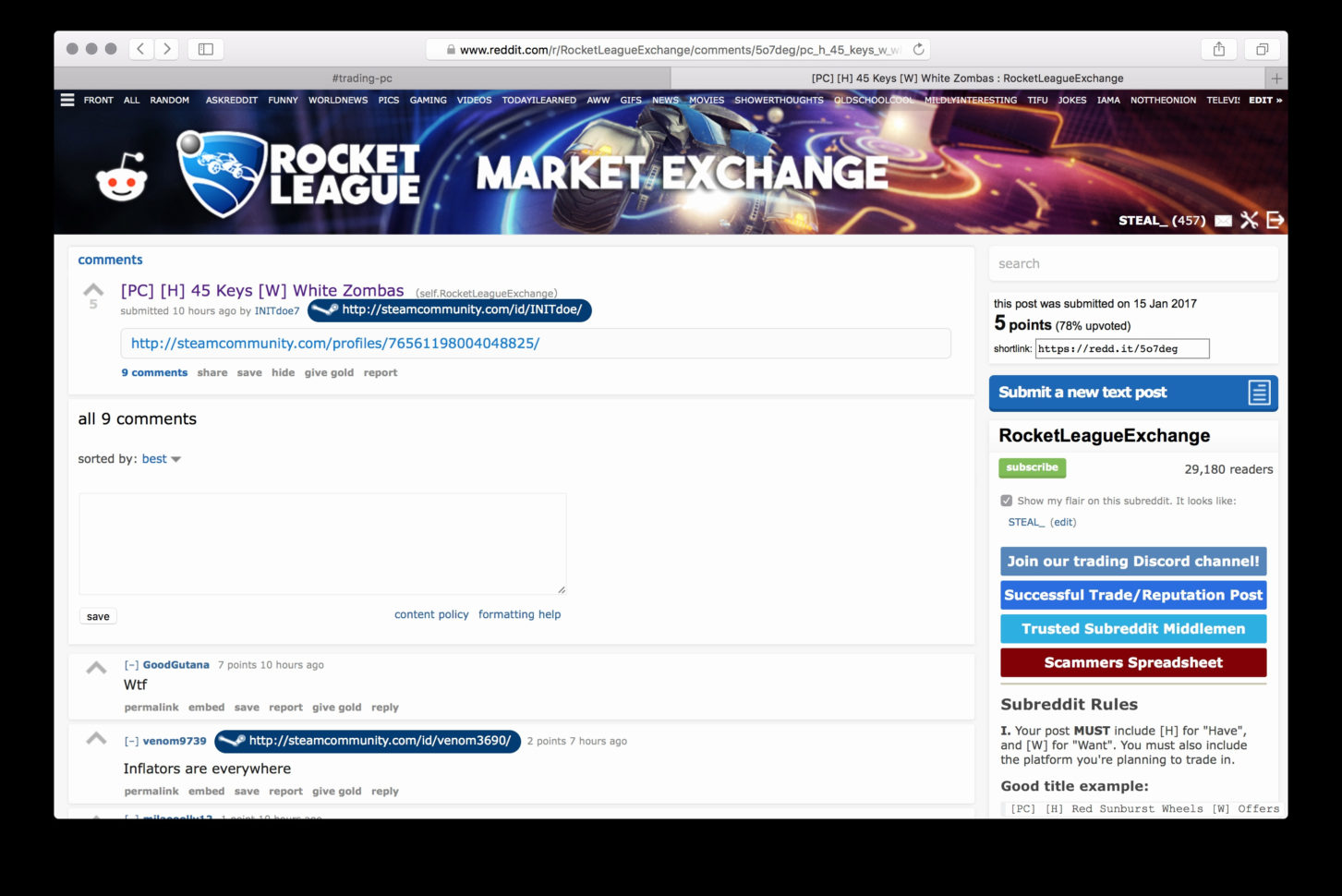 Rocket League Prices Multiverse Spreadsheet With Regard To Rocketgue Xbox Full Price Guide Updated Daily Youtube Prices