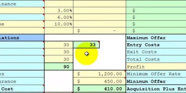 Roi Spreadsheet Regarding Rental Property Financial Analysis Spreadsheet And Rental Property