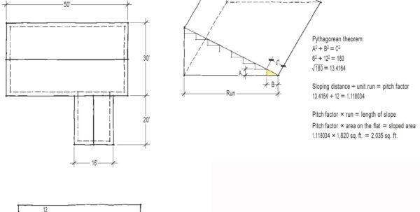 Roofing Estimate Spreadsheet In Estimating With A Spreadsheet  Jlc Online  Estimating, Jobcosting