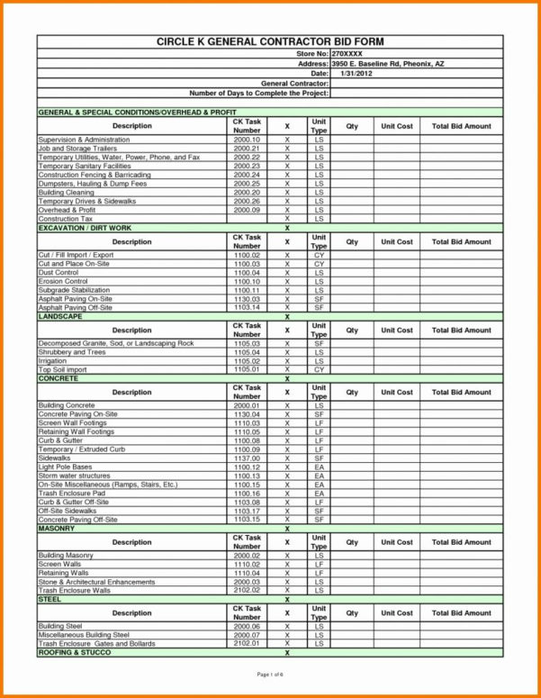 Roth Ira Excel Spreadsheet In Construction Job Costing Spreadsheet Cost Template Estimate Excel
