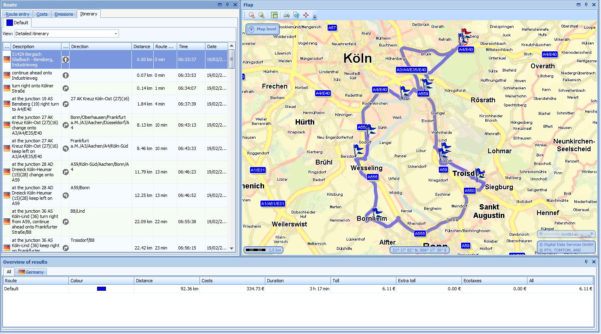 Route Planner Excel Spreadsheet Intended For Trip Planner Calculator  Kasare.annafora.co