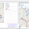 Route Planner Excel Spreadsheet With Regard To Handymap Route Planner