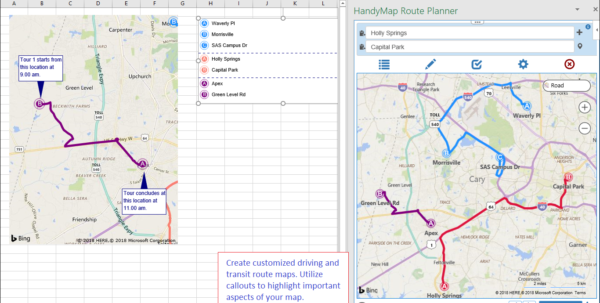 Route Planner Excel Spreadsheet With Regard To Handymap Route Planner Route Planner Excel Spreadsheet Google Spreadsheet