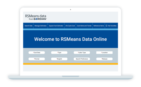 Rs Means Spreadsheet Pertaining To Rsmeans Data Online Cost Estimating Software