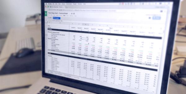 Saas Business Model Spreadsheet In Saas Financial Model: Simple Template For Earlystage Startups