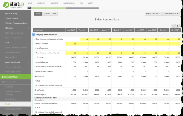 Saas Business Model Spreadsheet With How Deferred Revenue Is Handled With A Saas Business Model With