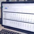 Saas Financial Model Spreadsheet Throughout Saas Financial Model: Simple Template For Earlystage Startups