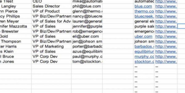 Sales Lead Spreadsheet Inside Spreadsheet Crm  Youtube For Sales Lead Tracking Spreadsheet