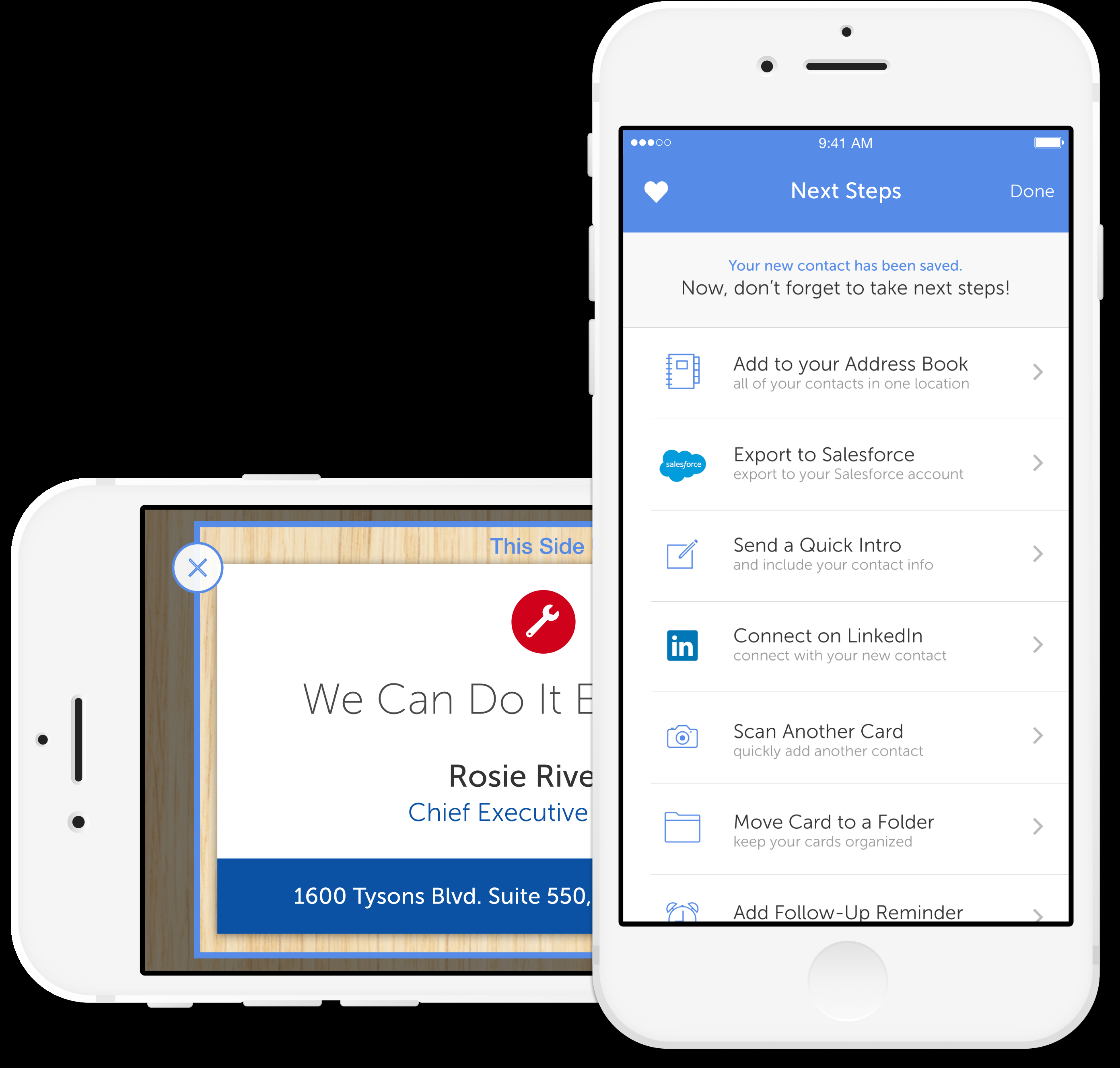 Salesforce Spreadsheet App Within 5 Apps To Help You Digitally Organize Business Cards  Macworld