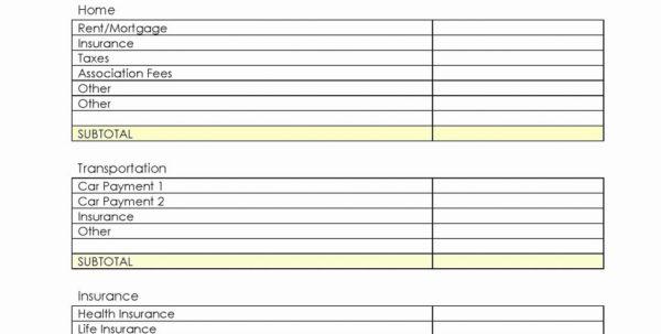 Salon Expenses Spreadsheet Throughout Business Plan Expenses Financial Template Xls Sample Advisor For