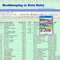 Sample Bookkeeping Spreadsheet For Bookkeeping Spreadsheets For Excel  Laobingkaisuo Intended For