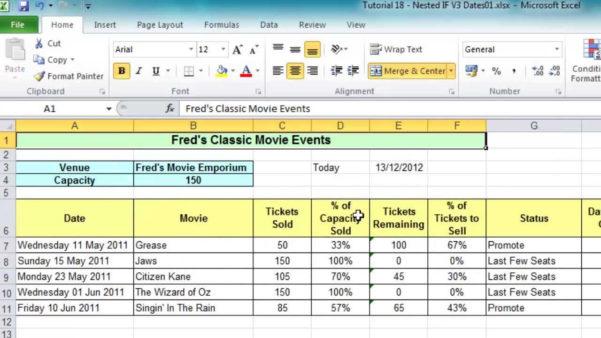 Sample Excel Spreadsheet For Practice Regarding Sample Excel File With Data For Practice  Homebiz4U2Profit