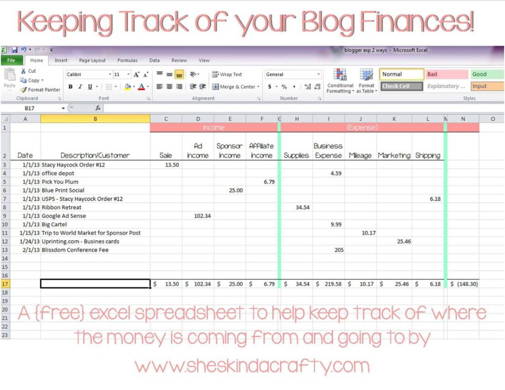 Sample Expense Tracking Spreadsheet Pertaining To Free Simple Bookkeeping Spreadsheet And Excel Contact List Template