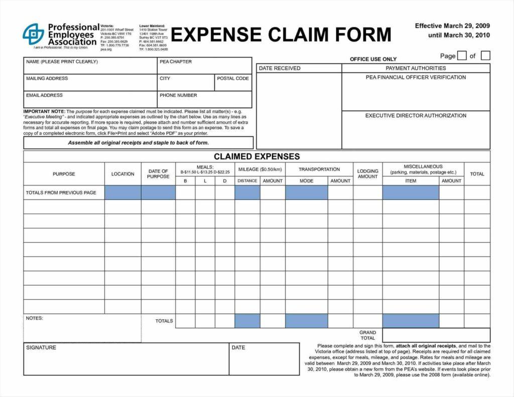 Sample Expenses Spreadsheet For Tracking Business Expenses Spreadsheet And Business Expenses