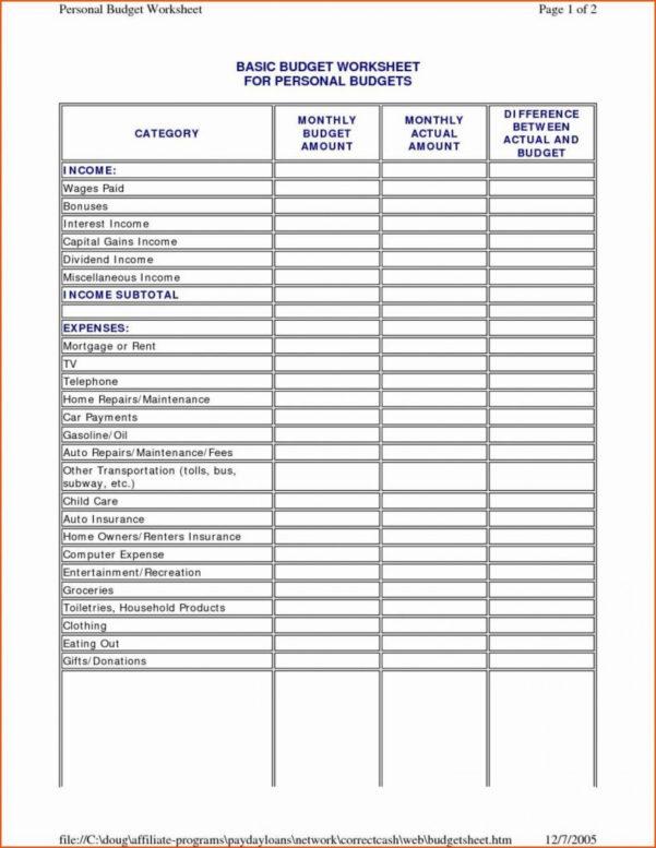 Sample Family Budget Spreadsheet For Easy Family Budget Worksheet Familyet Real Simple Household Monthly