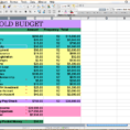 Sample Family Budget Spreadsheet With Example Of Family Budget Spreadsheets Spreadsheet Household Template