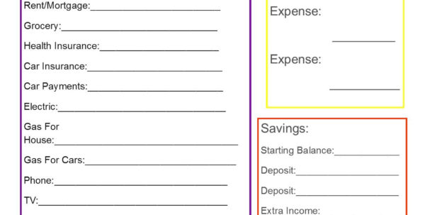 Sample Family Budget Spreadsheet Within Example Of Simple Budget Spreadsheet Sample Family  Pianotreasure