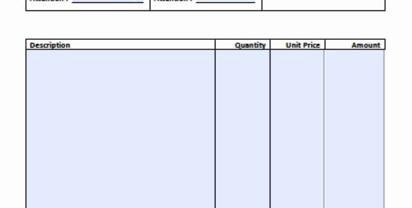 Sample Invoice Spreadsheet For Professional Invoice Templates Free Simple Basic Invoice Template