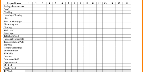 Sample Spreadsheet For Monthly Expenses For Bill Sheet Template Rent Collection Spreadsheet And 8 Monthly Bills