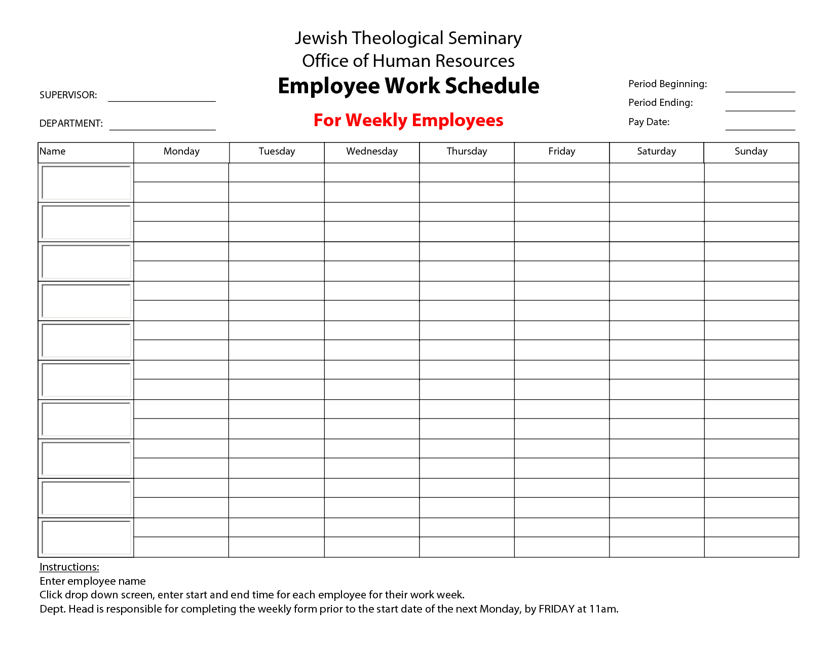 Sample Staff Schedule Spreadsheet Pertaining To Employee Schedule Template Sample  Get Sniffer