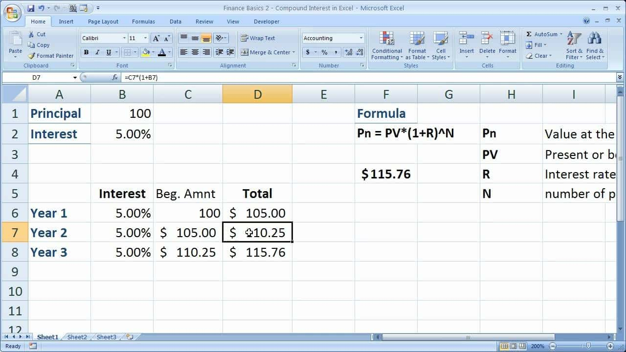 Savings Calculator Spreadsheet Pertaining To Daily Compound Interest Calculator Savings Account And Compound