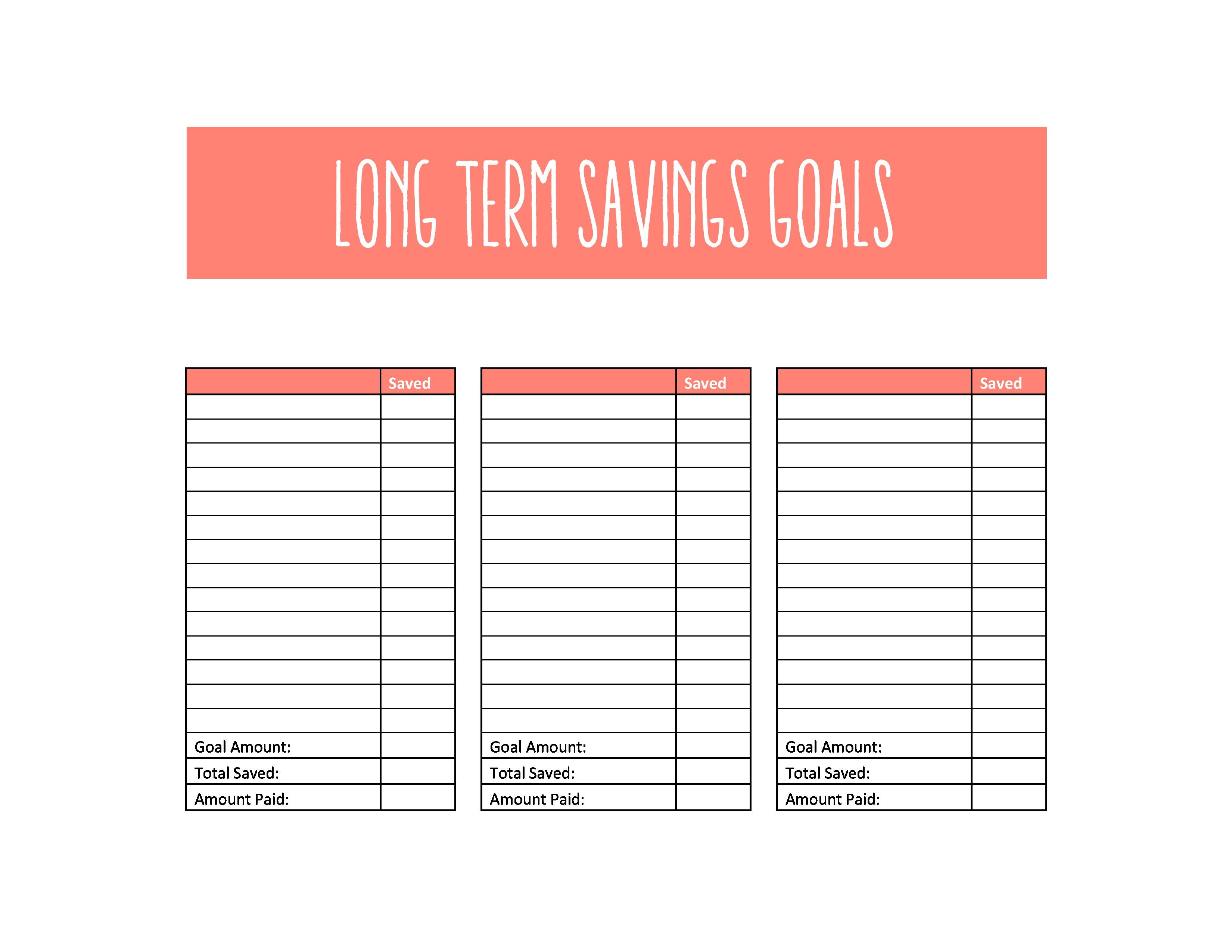 Savings Goal Spreadsheet In Setting And Tracking Savings Goals Tiller Help Center – The