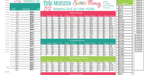 Savings Spreadsheet Inside 52 Week Savings Plan Spreadsheet  Spreadsheet Collections