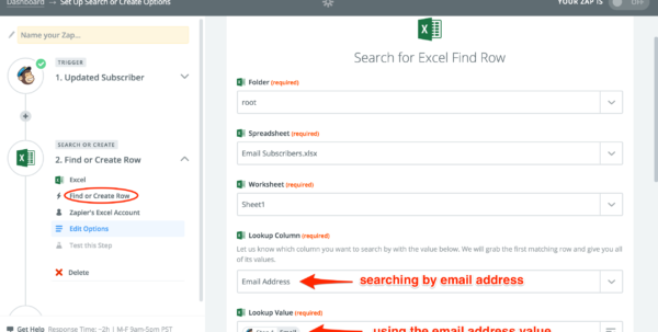 Scan Business Cards Into Excel Spreadsheet Throughout Excel  Integration Help  Support  Zapier