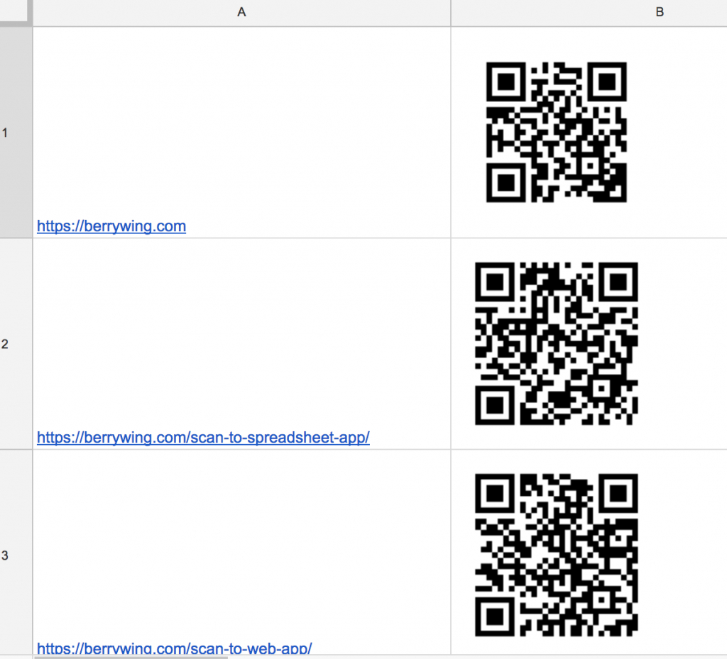 Scan Qr Code To Spreadsheet Throughout Make Your Own Qr Code Or Barcode Generator  Business Data