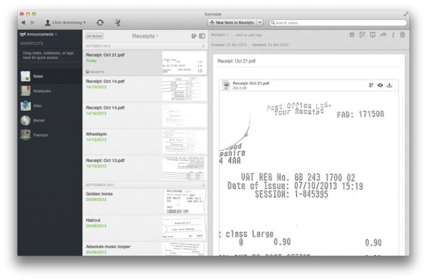Scan Receipts Into Excel Spreadsheet Within Organize Receipts On Your Iphone With Receiptmate  Tidbits